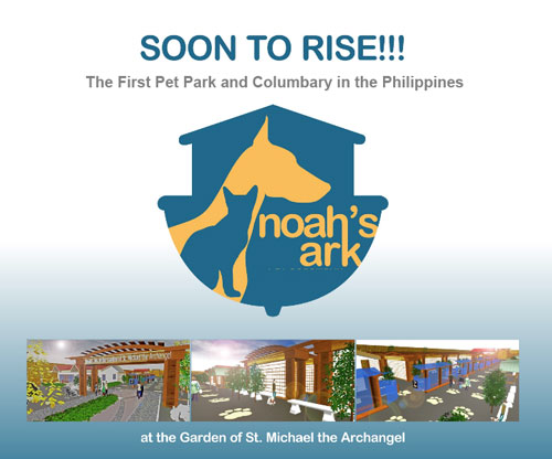 Soon to rise: Noah's Ark Pet Columbary