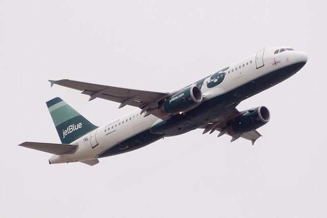 JetBlue Airways (I Love NY/JETS) Airbus A320-232 (N746JB)