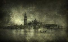 Venice San Giorgio Maggiore (Yaroslav Gerzhedovich) Tags: venice italy cloud classic island canal artwork moody drawing gloom darkly sangiorgiomaggiore