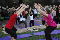 Sunset Yoga | Fall 2011