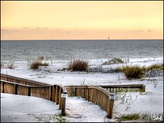 Southern beach (Suzanham) Tags: beach sand dunes boardwalk seaoats fantasticnature absolutelyperrrfect