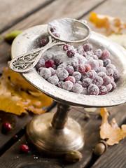 cranberry in sugar