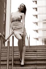 S for Sasha (r c hill photography) Tags: test sexy london glamour shoot with dress docklands sasha split tone splittone zenkovich fashionwarm sashachoices