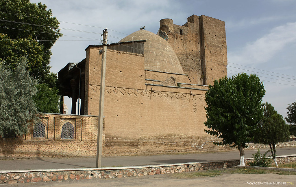 Mausoléu de Jehangir e a sua mesquita.
