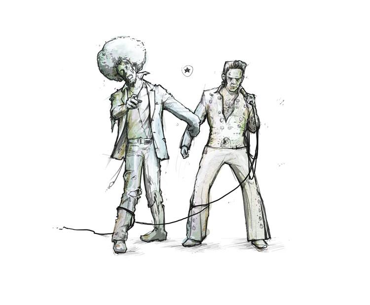 halloween disco sketch