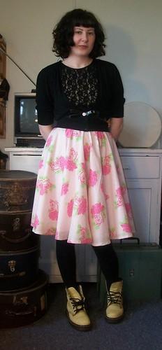 Spring Circle Skirt