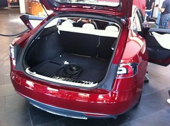 car electric models s prototype showroom dealership tesla
