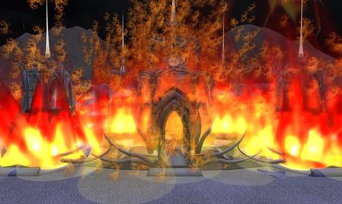 Temple burn 050
