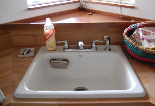 kitchen sink corner