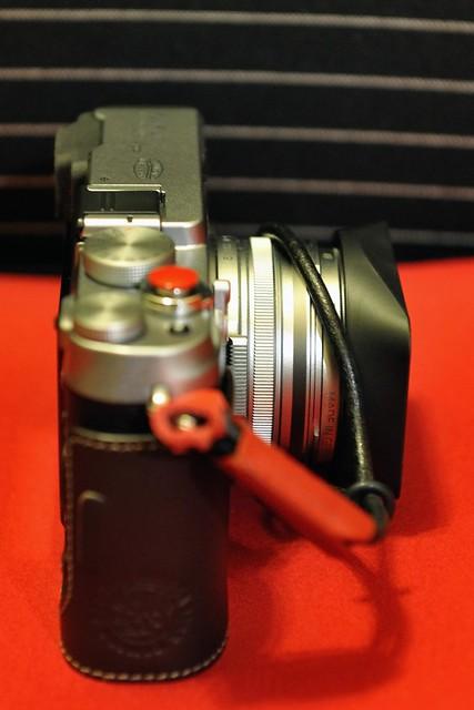 Fuji X100 方型遮光罩