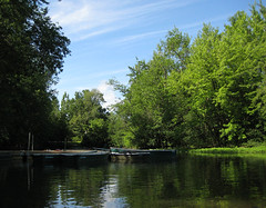 Parc de la Rivière des-Mille-Îles, Parc docks, Canada Day 2011