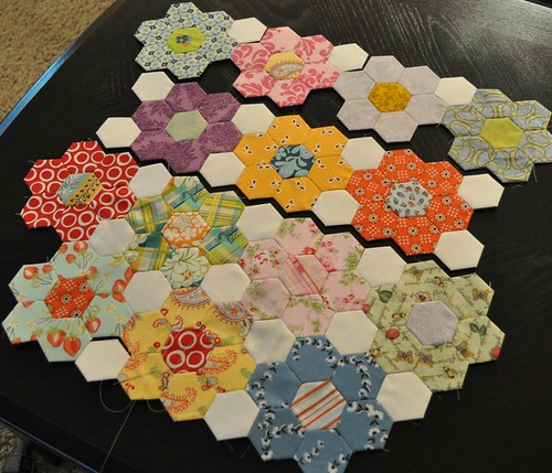 hexagon progress