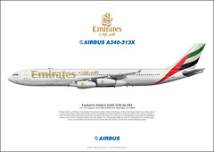 Emirates Airbus A340-313X A6-ERS Aircraft Art (AirlinersIllustrated.com) Tags: las art illustration plane de airplane paint à arte drawing kunst aircraft aviation illustrated profile jet airline da avião scheme flugzeug avión airliner lart avion airliners ligne aviação aircrafts avions vliegtuig jetliner livery flugzeuge aviación aviões pasajeros jato vliegtuigen aerolíneas maatschappij laviation luchtvaart reacción aeronaves réaction straalvliegtuig aéronefs airlinerart lijnvliegtuigen 旅客機旅客機アート航空機の民間航空機の航空会社の飛行機の航空機のジェット旅客機
