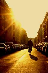 Berlin (GZZT) Tags: sun berlin germany deutschland sonnenuntergang sonne mitte fahrrad 030 drahtesel guessedberlin dämerung linienstrase fahrradstrase mittemitte gzzt martinbriese gwbanoniman9876 17102011 17oktober2011 circumvallationslinie