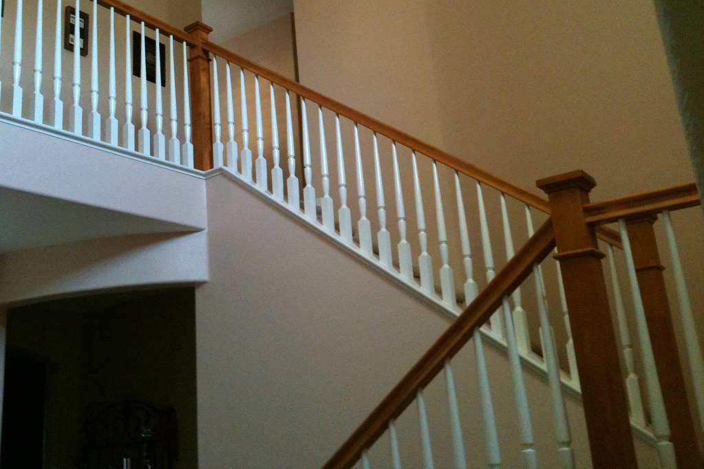 DAR B (k Pinson Stairs) Tags: Stairs Staircase Handrail Remodel  Spiralstaircase Spiralstairs Circularstairs