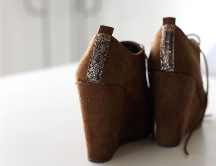 Čevlji z bleščicami
