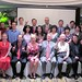 Members of the NC State delegation join university graduates and supporters in Shanghai.