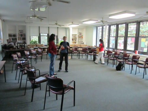 The training room at Bethany