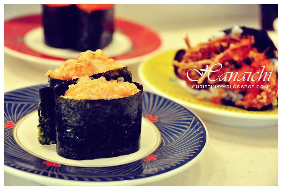 Hanaichi Japanese Sushi Bar at Wintergarden Brisbane
