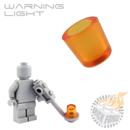 Warning Light - Trans Orange