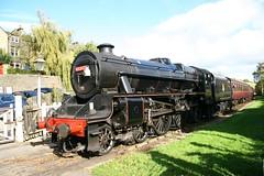 LMS Stanier Class 5MT 'Black 5' 4-6-0 45212 (DC-7C) Tags: heritage train 5 yorkshire railway loco class steam locomotive worthvalley westyorkshire preservation lms 460 kwvr oakworth 5mt stanier black5 45212 keighleyworthvalley