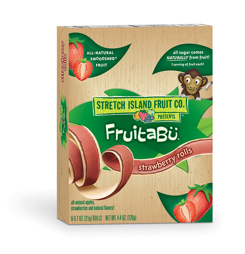 FruitaBu Fruit Rolls_Strawberry