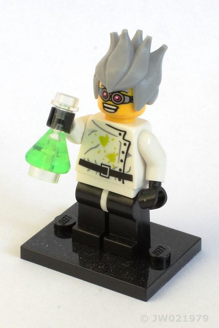 Lego Mad Scientist Minifigure