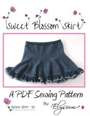The Sweet Blossom Skirt PDF Sewing Pattern