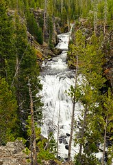 Kepler Cascades (rwarrin) Tags: fall october yellowstonenationalpark wyoming 1755 keplercascades nikond7000
