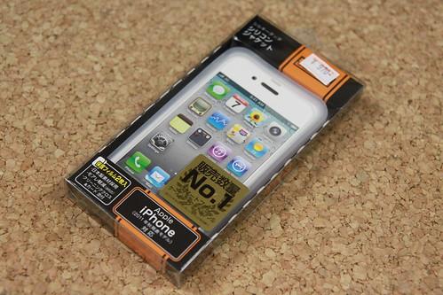 iPhone4Sシリコンジャケット