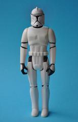 Vintage Clone Trooper (skipthefrogman) Tags: photoshop vintage fun toy star 1 action attack ii 80s armor clones figure 70s kenner wars custom phase episode skipthefrogman