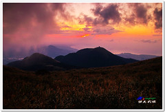 SDIM0248A ( or Jeff) Tags: sunset mountain nature water colors night clouds coast landscapes twilight place shot taiwan sigma explore  taipei   1020mm  discovery   scenes   afterglow foveon landscap  x3     glimmering 18200mm    datun  sd15