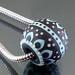 Charm bead : Black bead