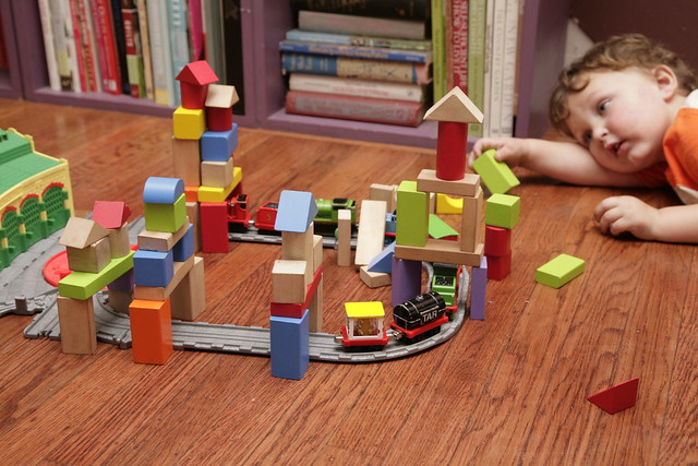 Trains and blocks