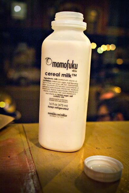 cereal milk @ momofuku milk bar