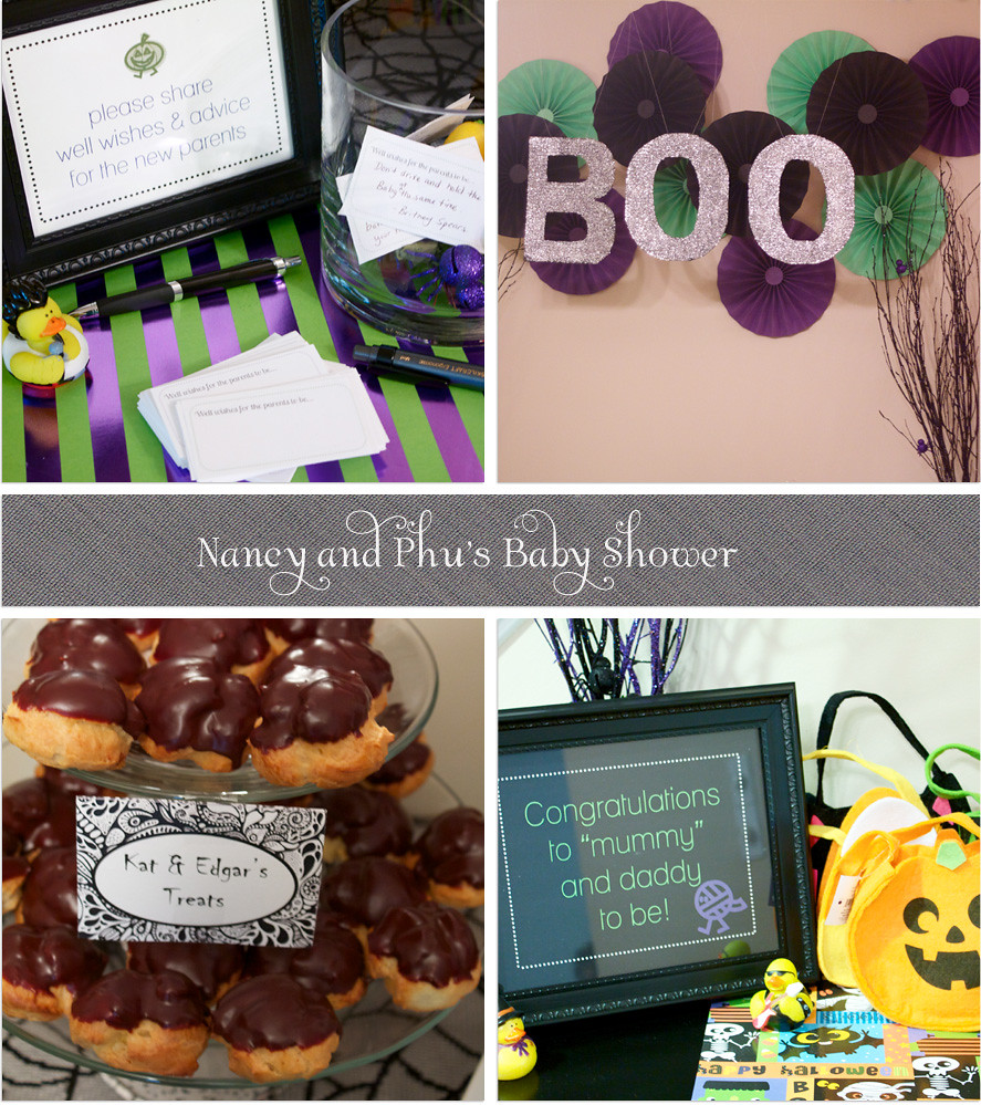Nancy & Phu's Halloween Baby Shower