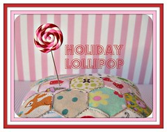 fun lollipop pin topper (Pinks & Needles (used to be Gigi & Big Red)) Tags: sculpture holiday sculpted 2011 etys gigiminor pinksandneedles pintoppers pintopper