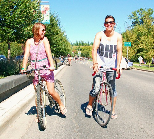 Bow River Flow 2011  - Janine & Tobias