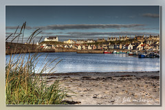 Findochty Harbour (Bill McKenzie / bmphoto) Tags: church boats eos scotland fishing village harbour d 5 best northeast moray findochty