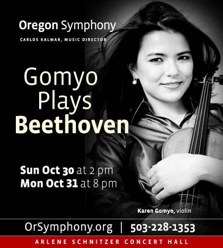 Gomyo Plays Beethoven @ Oregon Symphony
