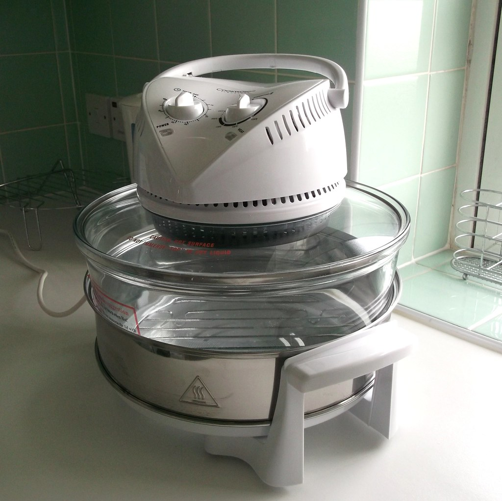 My Trusty New Friend ~ Halogen Tabletop Oven
