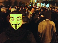 Mic check while waiting #OccupySF #OWS