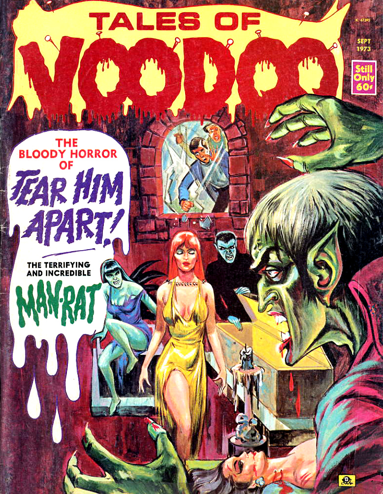 Tales of Voodoo Vol. 6 #5 (Eerie Publications 1973)