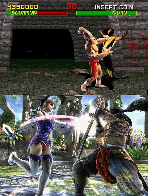 Mortal Kombat vs Soul Caliber 50