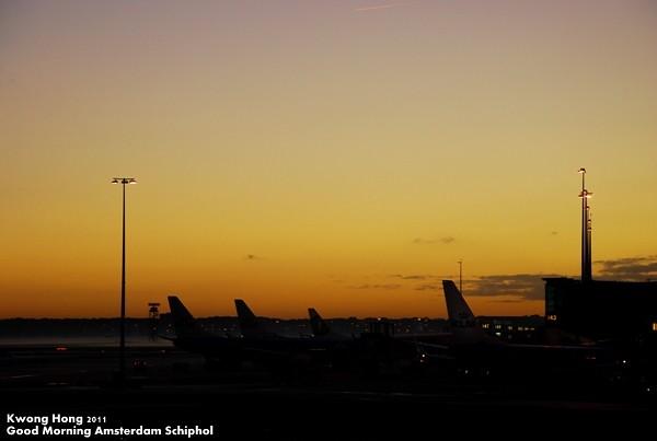 Good Morning Amsterdam Schiphol
