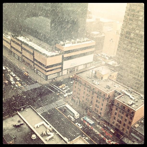 #NYC snow!!