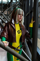 NYCC (Anna Fischer) Tags: costumes newyork anime festival comics costume comic cosplay super xmen hero comicbook cosplayer rogue marvel roge con nycc nyaf
