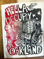 Poster From Occupy Oakland (Urban-Oakk) Tags: street city blue light urban orange house news streets green art car truck fence closet paper poster found photography graffiti oakland hall oscar concert funny tour place mayor fuck grant room character tag crowd steps protest pablo grow fences tags transit fancy laser cha epic lupe generation quan fiasco deadeyes occupy