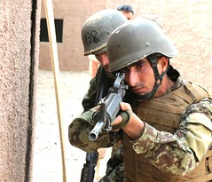 Coalition instructors record training sessions for ANA's future use (NATO Training Mission-Afghanistan) Tags: afghanistan ana transition mout operationenduringfreedom afghannationalarmy cstca ansf afghannationalsecurityforces ntma regionalmilitarytrainingcenter regionalsupportcommandsouth