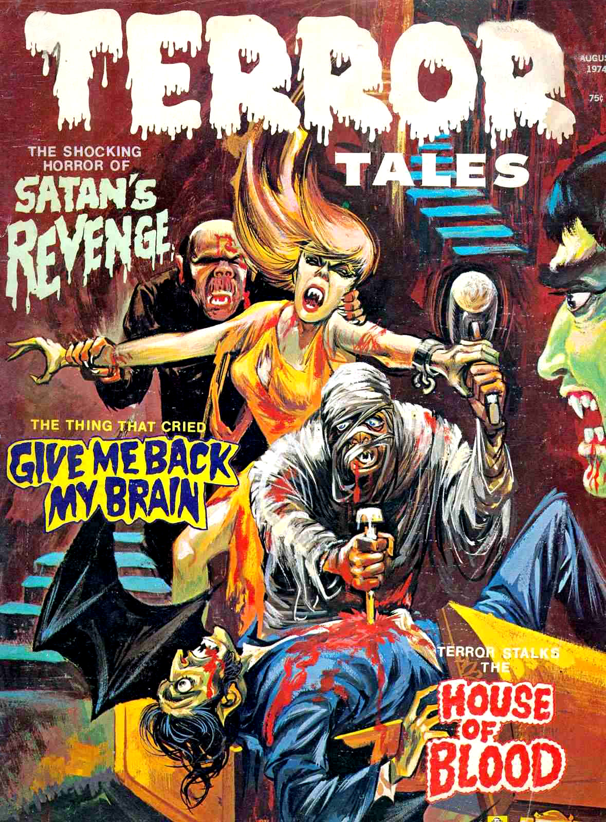 Terror Tales Vol. 06 #4 (Eerie Publications, 1974)